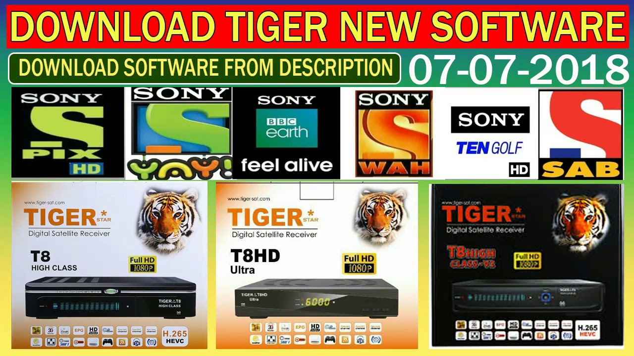 #tigert8 Download Tiger Receiver New Softwares