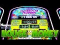 Jackpot Party 3 Reel Slot Machine - Max Bet - House Money