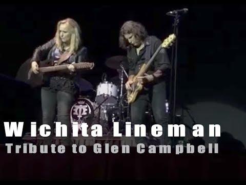 Wichita Lineman | Glen Campbell tribute by Melissa Etheridge | 8-8-2017