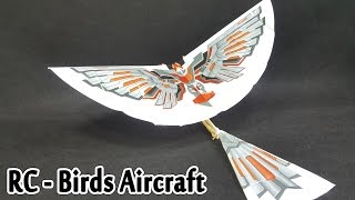 DIY Assembly Flapping Wing Flight Model Birds Aircraft