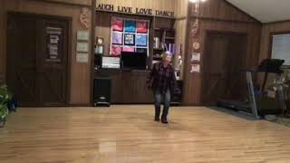I Was Raised On Country Line Dance Video
