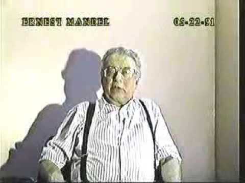 Daniel Singer (R.I.P.) & Dr. Ernest Mandel (R.I.P.)  - 05-22-91 Original air date
