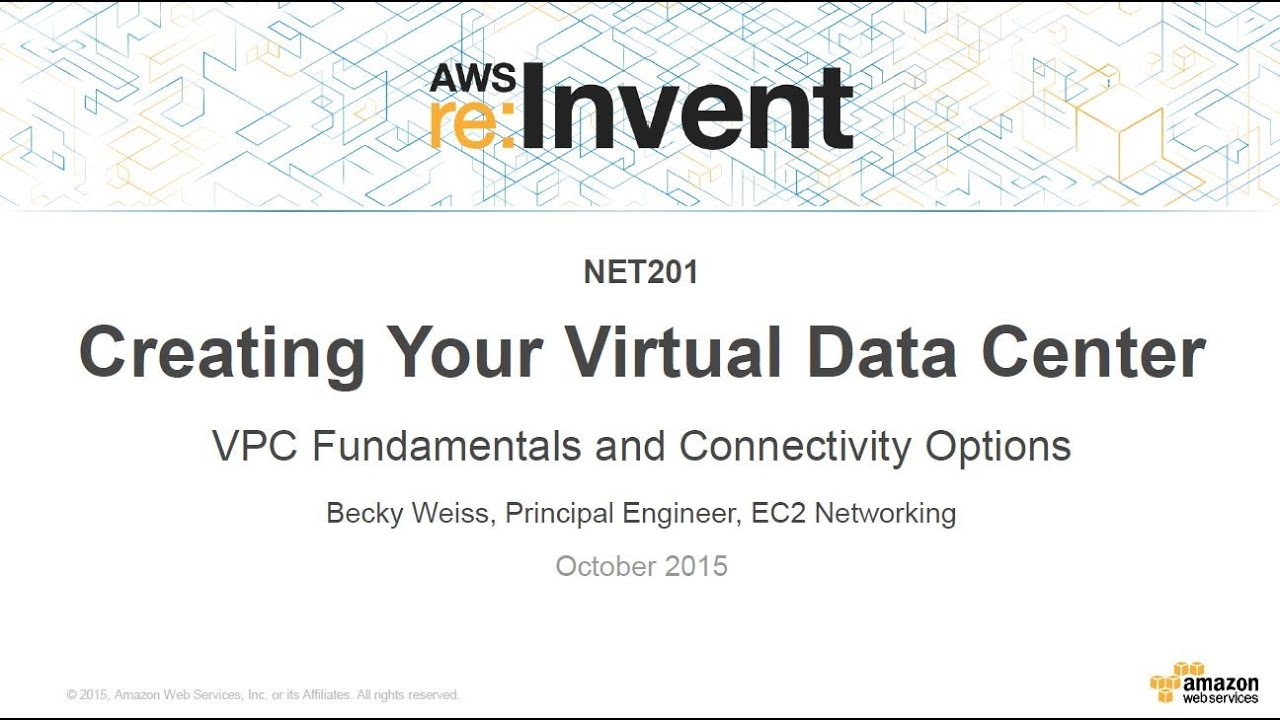 AWS : VPC (Virtual Private Cloud) 1 - netmask, subnets, default