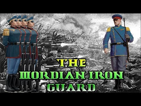 40k Lore, Regiments of the Imperial Guard, Mordian Iron Guard