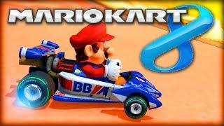 MARIO KART 8 (Wii U) - New Characters, Items, Bikes vs Karts & MORE! (MK8 Gameplay)