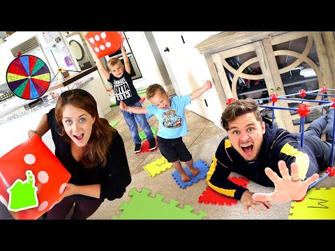 GIANT BOARD GAME IN REAL LIFE CHALLENGE!