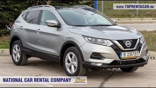 Nissan Qashqai 2018 + GPS from Top Rent A Car Bulgaria
