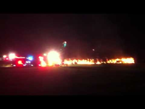 Morven Park Gate 2 Fire
