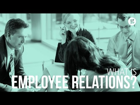 What is Employee Relations