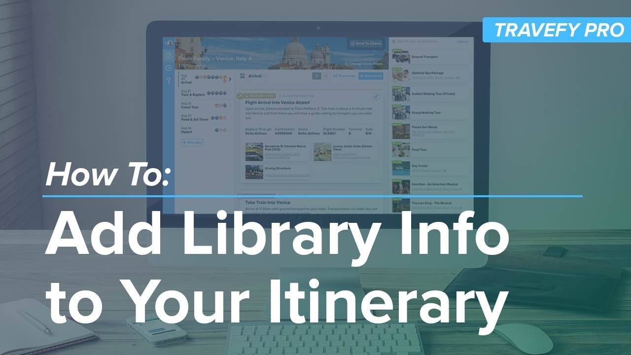 the best attitude 7cc32 d168f How To: Add From Your Library to Itinerary