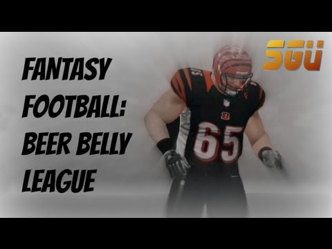 Fantasy Football: Beer Belly League 2012 Draft Results Live!