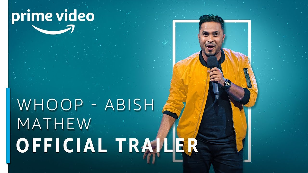 Download Whoop | Abish Mathew | Official Trailer | Stream Now | Stand Up Comedy Special | Amazon Prime Video