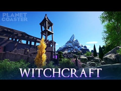 Planet Coaster - Witchcraft