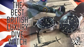 The Best British Made Luxury Dive Watches - Bremont Supermarine S301 & S501 Review