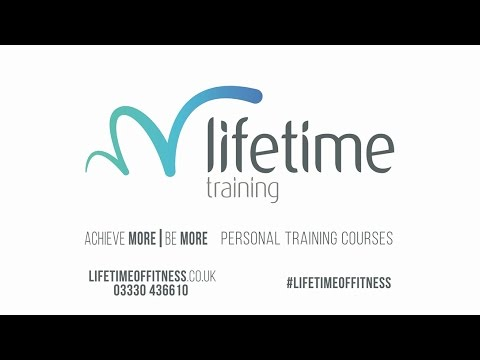 #LifetimeofFitness - Become A Personal Trainer With Lifetime