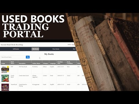 Online Secondhand Used Book Trading Portal Software Project