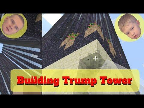 Building Trump Tower In Minecraft