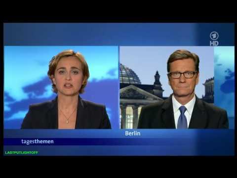 Wütender Mob stürmt Deutsche Botschaft im Sudan - Interview mit Guido Westerwelle