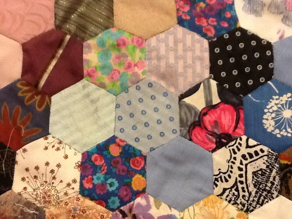 Hexagon Patchwork Basics Youtube