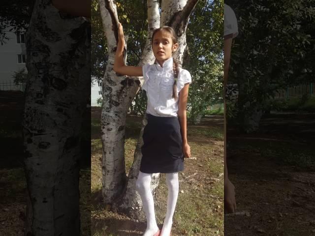 Диана Озеряко читает произведение «Осень» (Бунин Иван Алексеевич)