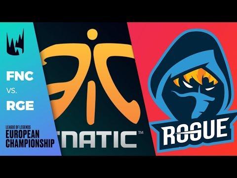 FNC vs Rogue - LEC 2019 Spring Split W7D2 - Fnatic vs Rogue