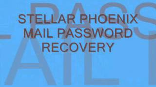 Email Password Recovery Software to recovers pasword of all email clients.