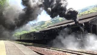190420 SL人吉 下り白石駅発車