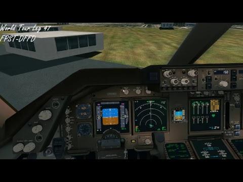 PMDG747-400v3 World Tour Leg47 FPST-DFFD