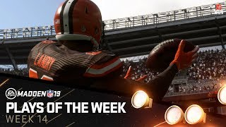 Madden 19 - Plays of the Week 14