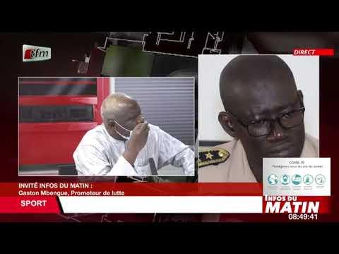 Download Gaston Mbengue, Promoteur de lutte, invité dans Infos du matin du 28 Juillet 2021