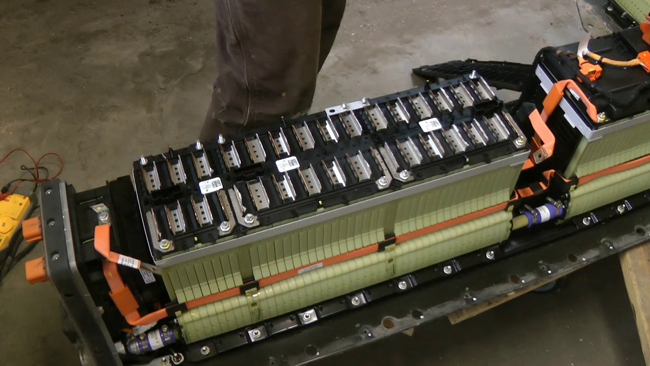 2013 Chevy Volt Battery BMS Pinout Diagram - YouTubeYouTube