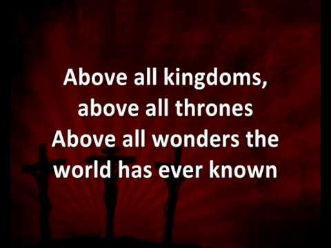 above all powers lyrics pdf