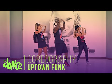 Bruno Mars - Uptown Funk | Coreografía - FitDance - 4k
