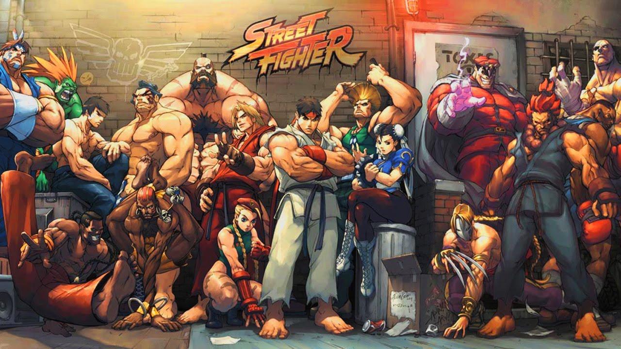 Il Cast Di Street Fighter Youtube