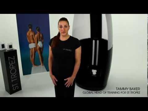 Learn To Spray Tan - With St. Tropez