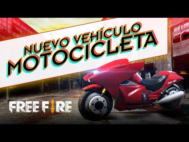 ¡NUEVO VEHÍCULO EN FREE FIRE! - MOTOCICLETA