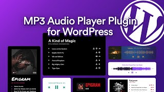 How to Add Audio Player in WordPress with MP3 Music Player [UPDATED] screenshot 4