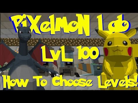 Pixelmon Lab: How To Spawn Pokemon With Specific Levels! (+