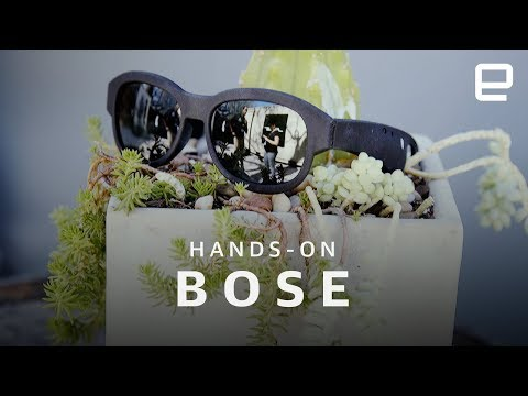 Bose AR Glasses Hands-On at SXSW 2018