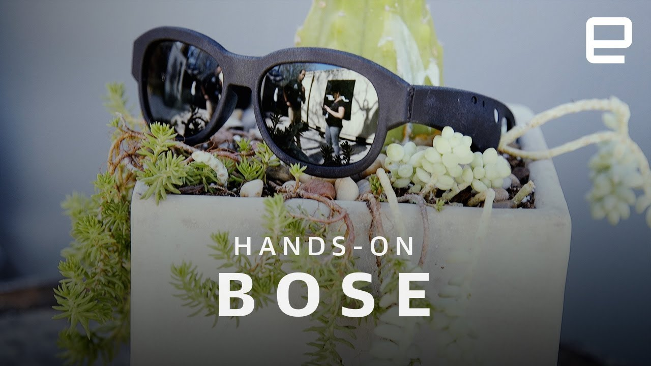 cf0d45c36 Bose AR Glasses Hands-On at SXSW 2018 - YouTube
