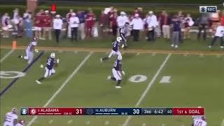 Iron bowl 2019 #5 Alabama vs #15 auburn