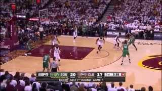 Isaiah Thomas Historic Playoff Debut Highlights (3rd player in history with 22 pts, 10 ast, 5 reb)