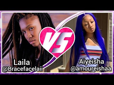 BRACEFACELAII VS AMOUREISHAA 🔥 | U.I.D.B | WHO WON??