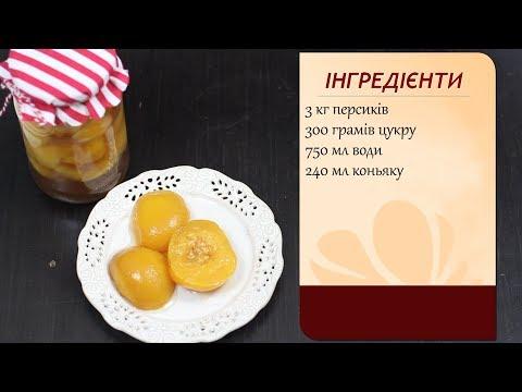 Персики в сиропі з коньяком. Найсмачніші!