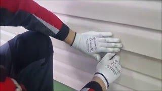 Как заменить панель винилового сайдинга