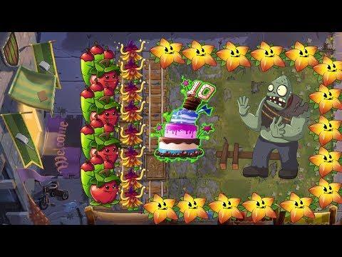 Witch Hazel and Starfruit - plants vs Zombies 2 Battlez