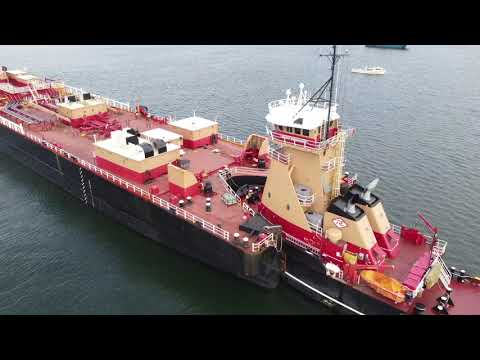 Shipspotting: Reinauer RTC-165 Tank Barge - Full HD 1080p