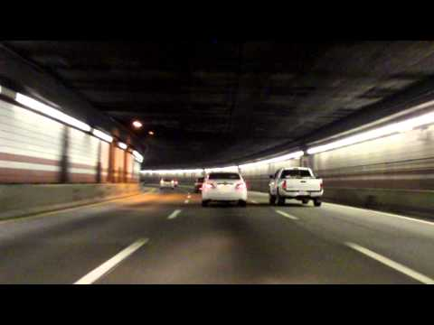 John F. Fitzgerald Expressway (Interstate 93 Exits 28 to 18) southbound