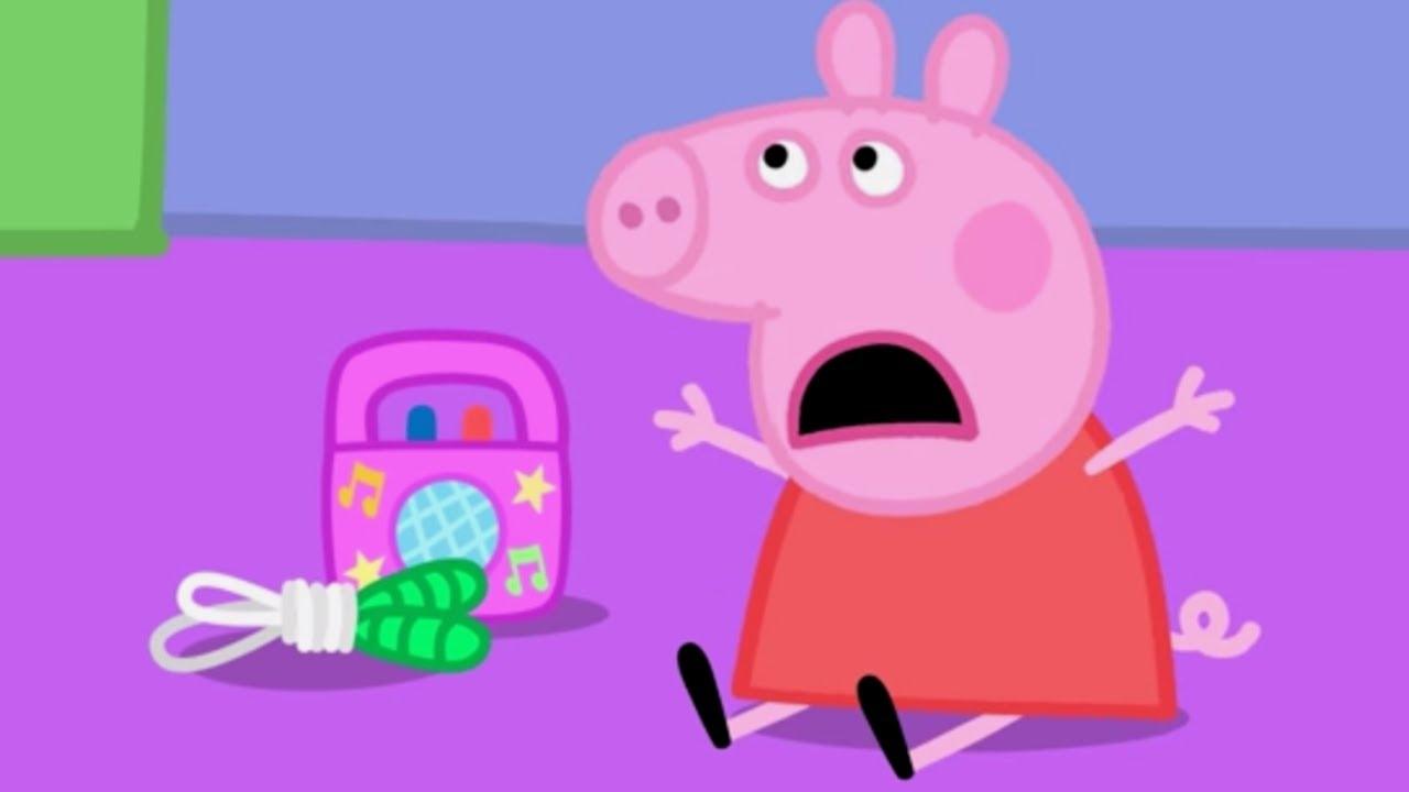 Peppa pig en espa ol diversi n en el aula dibujos for En youtube peppa pig