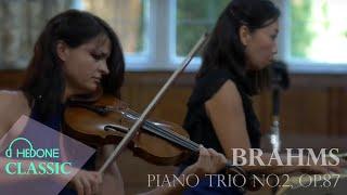 Brahms Piano Trio in C Major No.2, op 87 - Allegro moderato - Greenwich Trio